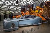 Munich, Germany - November 1, 2017: 103Ex-rolls-royce Vision Next 100 On Display At The Bmw Museum I poster