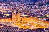 Cusco, Peru The Historic Capital Of The Inca Empire. Plaza De Armas poster