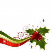 image of holly  - Holly christmas design element - JPG