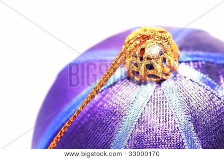 Purple Christmas Ball Ball