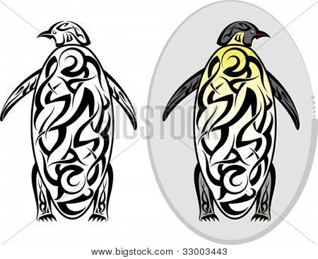 tattoo Penguin