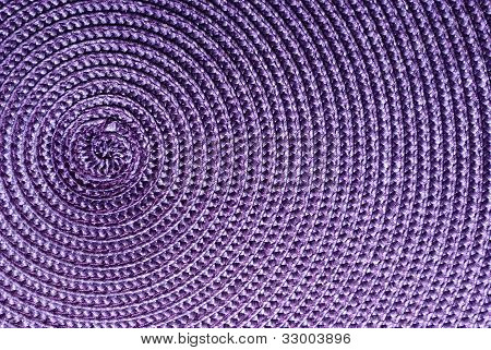 Close-up Of Purple Synthetic Fabric.
