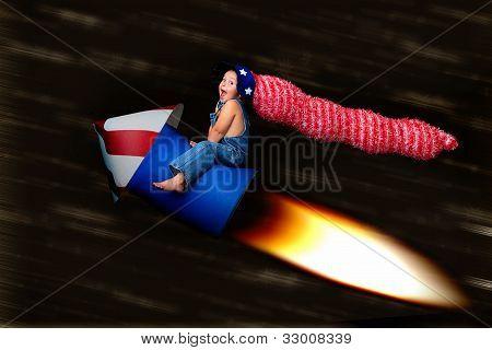 Patriotic Blast Off