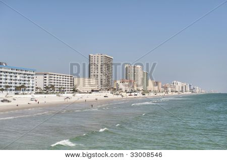 Daytona Beach's Beautiful Coastline