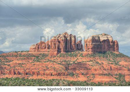 Cathedral Rocks Of Sedona