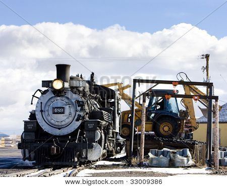 Cumbres y toltecas Narrow Gauge Railroad, Antonito, Colorado, Estados Unidos