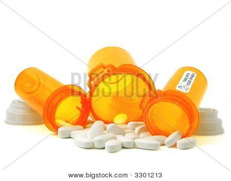 Medicine And Bottles