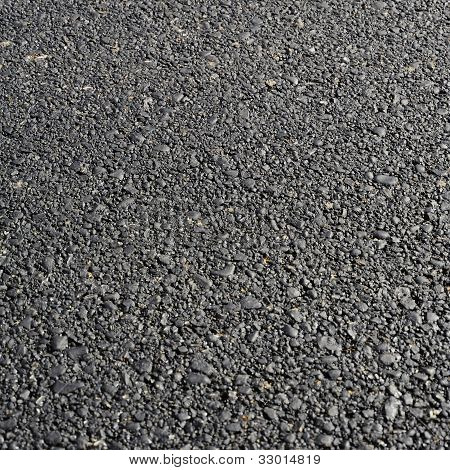 Fresh Asphalt Road
