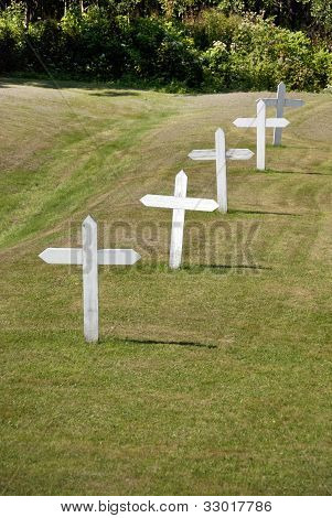 Cemetery of Grosse Île and the Irish Memorial National Historic Site