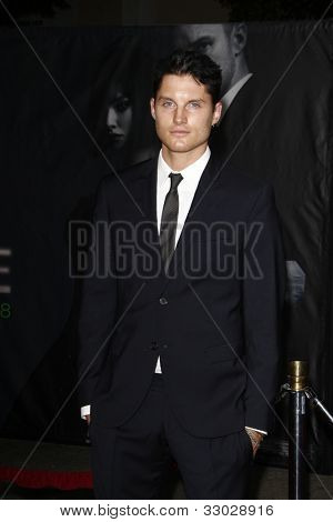 LOS ANGELES - OCT 20: Toby Hemingway at the 'In Time' Premiere at the Regency Village Theatre on October 20, 2011 in  in Los Angeles, California