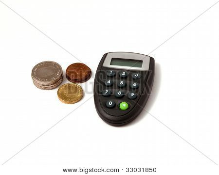A Digipass With Coins