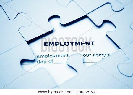 Puzzle de emprego