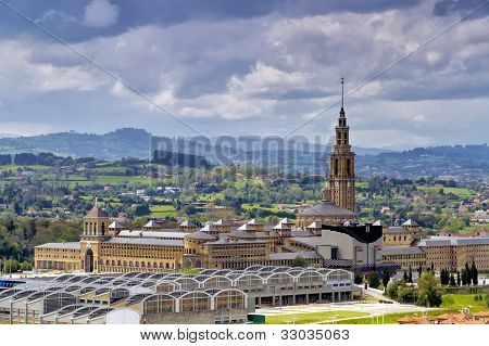 Old University Of Gijon , Spain
