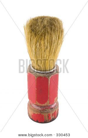 Old Barber Brush