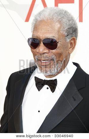 CULVER CITY - JUNE 9: Morgan Freeman at the 39th AFI Life Achievement Award Honoring Morgan Freeman held at Sony Pictures Studios  in Culver City, California on June 9, 2011.