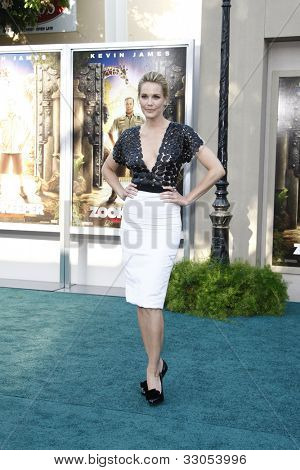 LOS ANGELES, CA - JULY 6:  Leslie Bibb at the premiere of 'The Zookeeper' at the Regency Village Theatre on July 6, 2011 in Los Angeles, California
