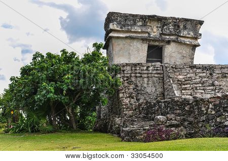 mayan ruins in Tulum.