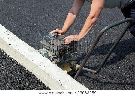 Obras de carreteras