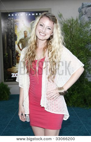 LOS ANGELES, CA - JULY 06:  Christie Brooke at the premiere of 'The Zookeeper' at the Regency Village Theatre on July 6, 2011 in Los Angeles, California