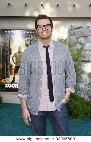 LOS ANGELES, CA - JULY 06:  Eric Matheny at the premiere of 'The Zookeeper' at the Regency Village Theatre on July 6, 2011 in Los Angeles, California