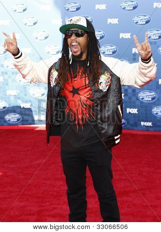 LOS ANGELES - MAY 25: Lil Jon at the American Idol Finale at the Nokia Theater in Los Angeles, California on May 25, 2011