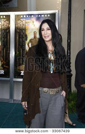 LOS ANGELES, CA - JULY 06:  Cher at the premiere of 'The Zookeeper' at the Regency Village Theatre on July 6, 2011 in Los Angeles, California