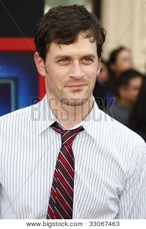 LOS ANGELES - MARCH 6: Tom Everett Scott at the World Premiere of 'Mars Needs Moms' held at the El Capitan Theater in Los Angeles, California on March 6, 2011