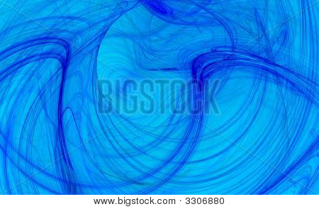 Electric Blue Background