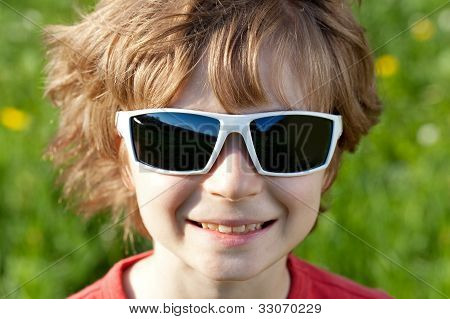 Disheveled Guy Wearing Sunglasses