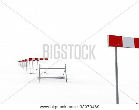 falls jump hurdles