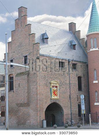 Gevangenpoort in Hague, Den Haag. Netherlands