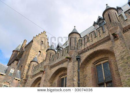 Dutch Parliament. Ridderzaal, The Hague. Den Haag. Netherlands