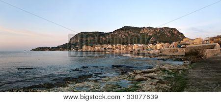 Coastline Of Sicily
