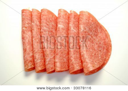 Fresh Sliced Salami