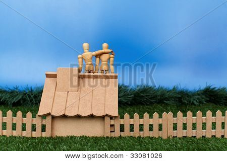 Dummy theme: Dummy chat on roof