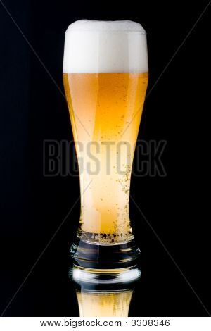 Fresh Foamy Beer