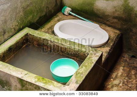 Traditional Thai Toilet