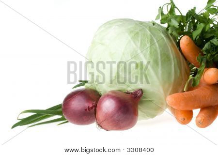 Still-Life With Vegetables