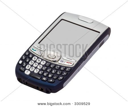 3G Smartphone Isolated On White With Clipping Paths