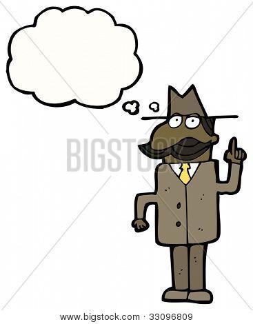private detective solving case