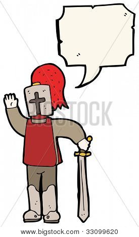 cartoon arthurian knight
