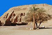 pic of ramses  - Abu Simbel Temple of King Ramses II - JPG