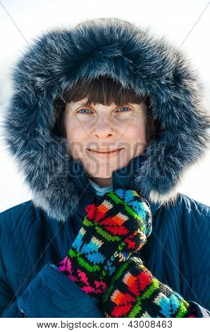 Anna On The Frozen Lake