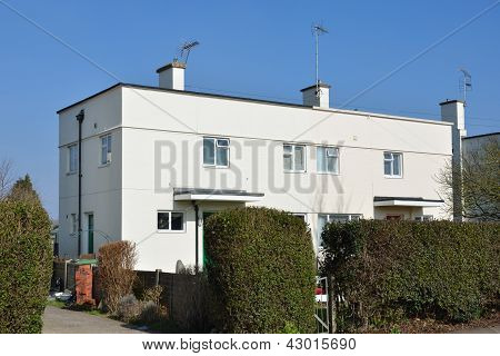 Rectangular white flats