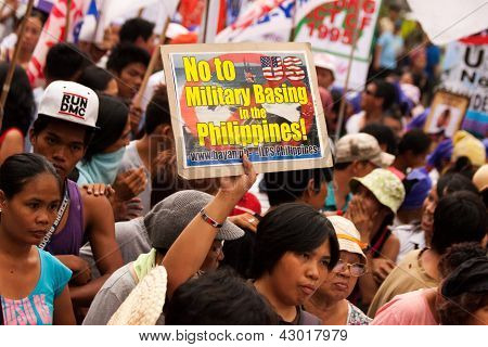 International Women's Day protest in Manila, Philippines