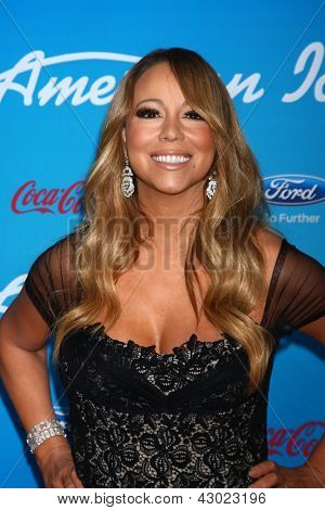 LOS ANGELES - MAR 7:  Mariah Carey arrives at the 2013