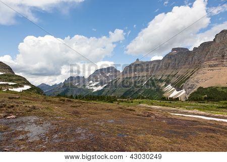 Fila de montañas