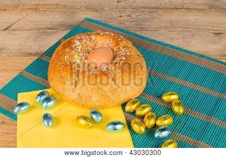 Freshly Baked Easter Cake