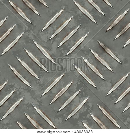 Metal Diamondplate Seamless