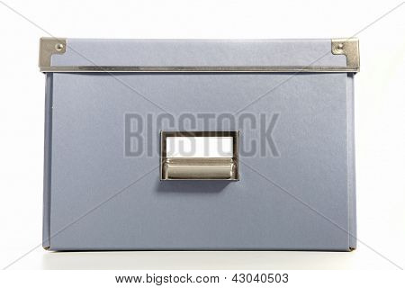 Document Box Isolated On White